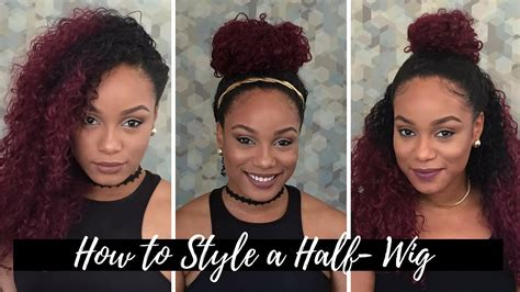 Half Wig Hairstyles by Simple Hairstyle For Half Wig Hairstyles Hair