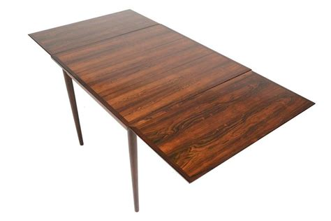 square dining room table with leaf brazilian rosewood square draw leaf dining table at 1stdibs