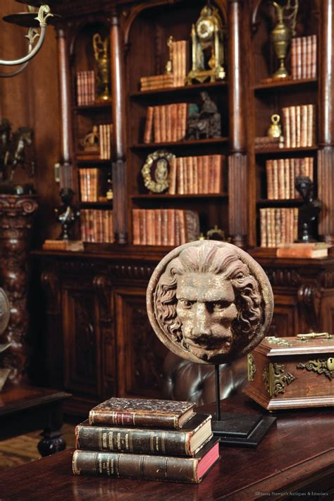 Antiques In Style Into The Library Antiques In Style Antique Home Office Furniture