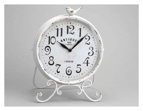 t駘馗harger horloge de bureau horloge 224 poser amadeus m 233 tal vieilli oiseau