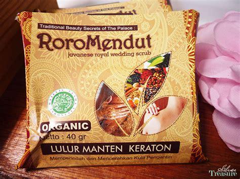 Scrub Keraton sneak peek roro mendut traditional skin care silver