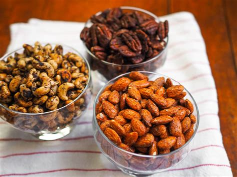 spiced holiday nuts spice up your holiday with three spiced nuts variations