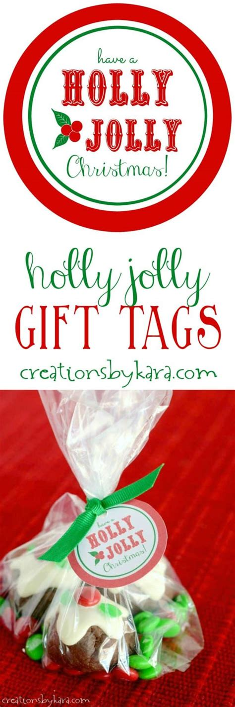 holly jolly christmas printable tags free printable holly jolly gift tags
