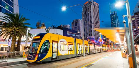 lights on the gold coast gold coast light rail s stage 3a to run from broadbeach to