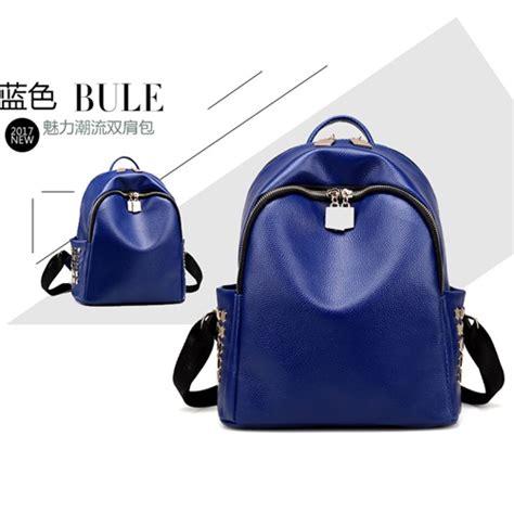 Tas Ransel Fashion Import Bds21842 Blue jual b996 blue tas ransel import modis grosirimpor