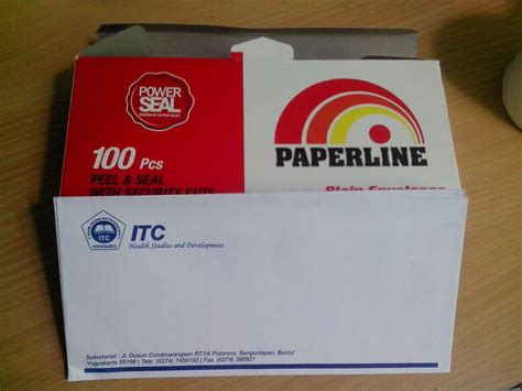 Paperline Lop Putih No 104 cetak lop putih paperline murah pusat cetak sablon merchandise