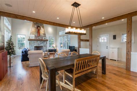 great room open concept  floor  ceiling stone