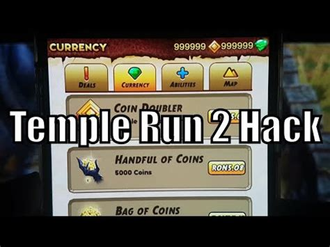 how to hack temple run 2 unlimited gems and coins