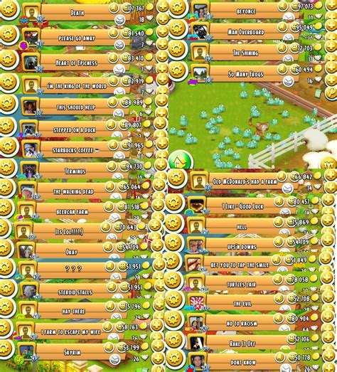 farm names i a collection of farm names on hay day these are some of my