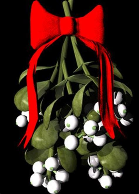 the tradition of kissing under the mistletoe where did