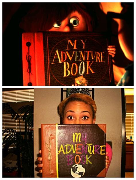 a lifetime of adventures books i made a diy my adventure book from up disney lifestyle