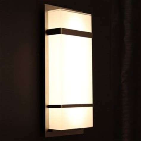 Contemporary Outdoor Lighting Sconces Phantom Indoor Outdoor Led Wall Sconce