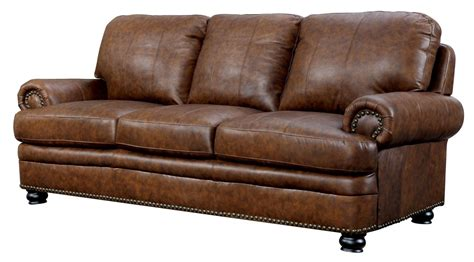 top grain leather sofa rheinhardt top grain leather sofa from furniture of
