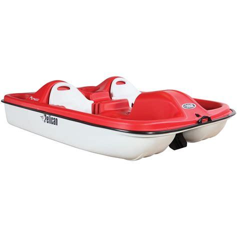 pelican monaco boat pelican monaco pedal boat red white 206267 boats at