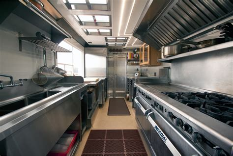 food truck kitchen design properly outfitting your food truck kitchen
