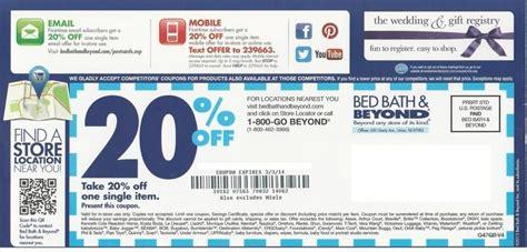 Bed Bath Beyond Printable Coupon 2018