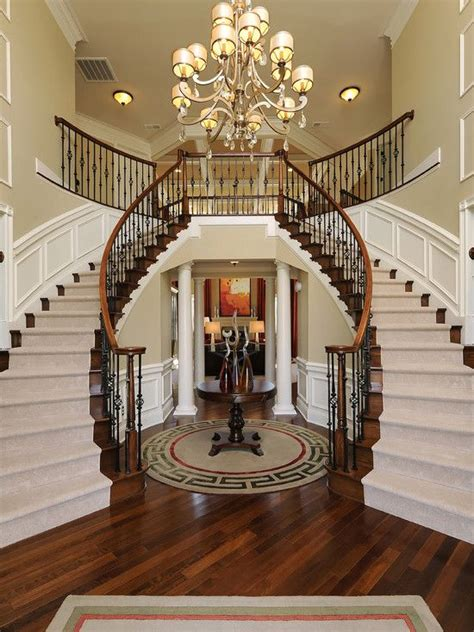 excellent ideas  decorating entrance staircase