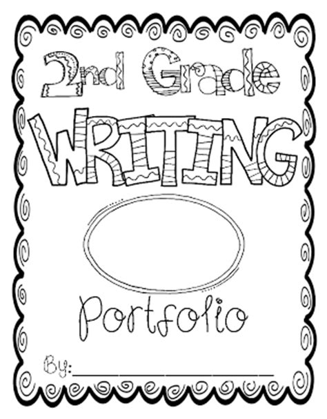 writing cover page totally terrific in portfolio cover pages