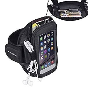 Avantree Armband For Iphone 6 Plus Note 5 Original Produk Armor 7 avantree neoprene iphone 8 7 6 6s plus sports running armband with key holder card pouch fits