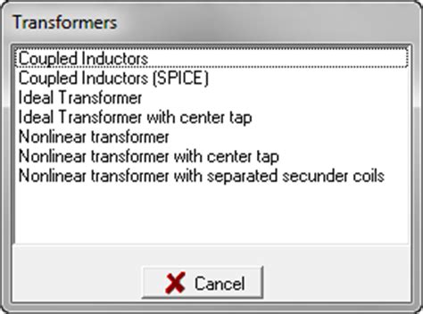 tina coupled inductors transformer with center tap and secondaries simulation models forum webench 174 design