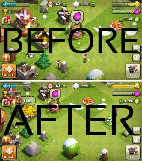 download game coc mod gems blog clash of clans hack no survey