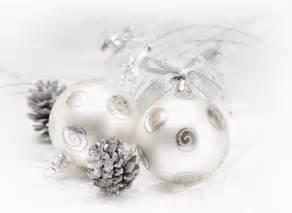 silver christmas decorations christmas photo 22229353