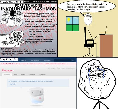 Forever Alone Meme Origin - image 123823 forever alone know your meme