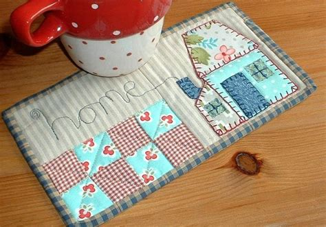 Quilted Mug Rug Patterns by 877 Best Quilted Mug Rugs Images On