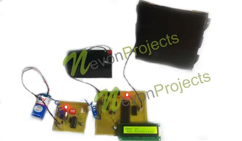 Secure Garage Door Opener Rf Based Secure Garage Door Opener Nevonprojects