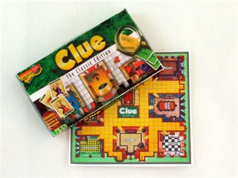 all doll house games dollhouse miniature clue board game 1 12th scale