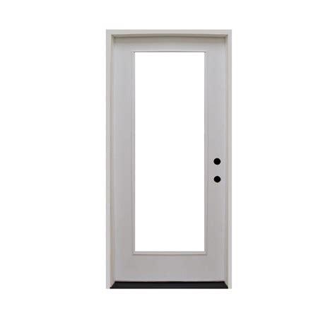 Steves Sons 28 In X 80 In Premium Full Lite Primed Lite Exterior Door