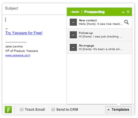 Powerful Tools That Make You A Master At Effective Email The Scalable Advisor Yesware Email Templates
