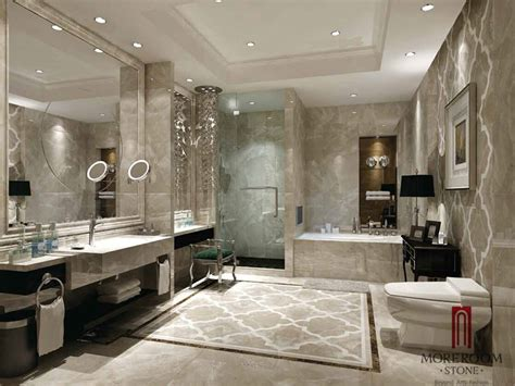 Italian Grey Marble Waterjet Medallions , Marble Flooring