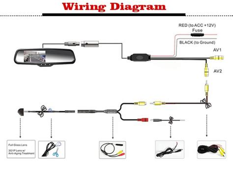 wiring diagram for rear view mirror new wiring diagram 2018