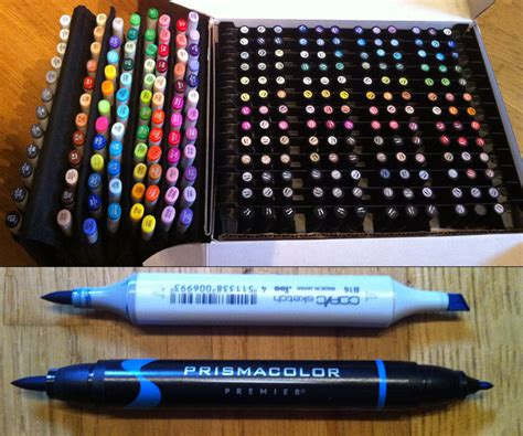 prismacolor markers copic and prismacolor marker collection by yuureikun