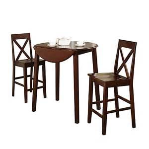 Drop Leaf Bar Table 3 Drop Leaf Pub Table Gathering Set Bed Bath Beyond