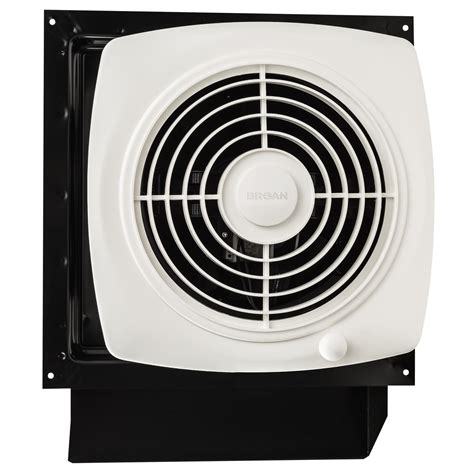 broan through the wall exhaust fan broan 509 through wall fan 180 cfm 6 5 sones white