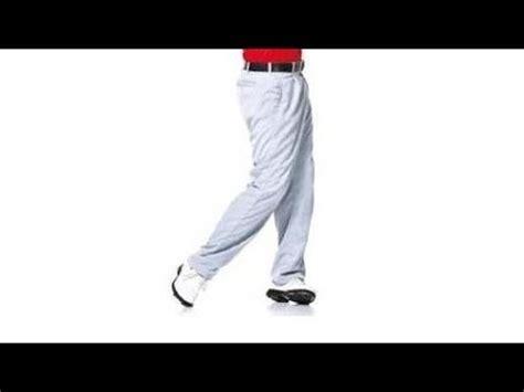 post up left leg golf swing left foot stablity golf swing drill youtube