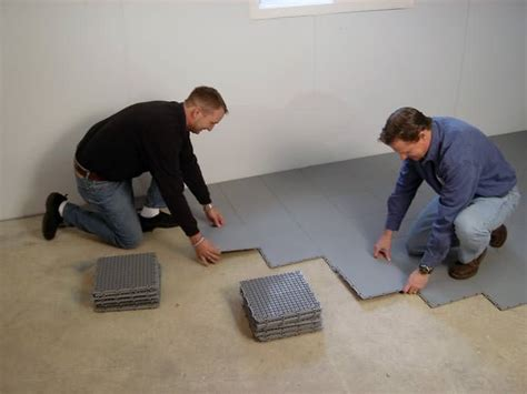 waterproofing a basement floor nine steps to take before finishing your basement in