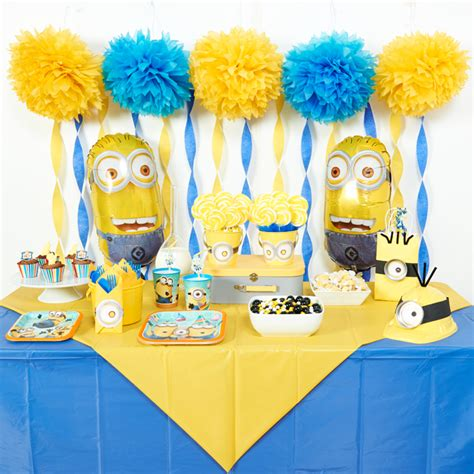 Minions Decoration by Diy Minions Ideas Birthday Express