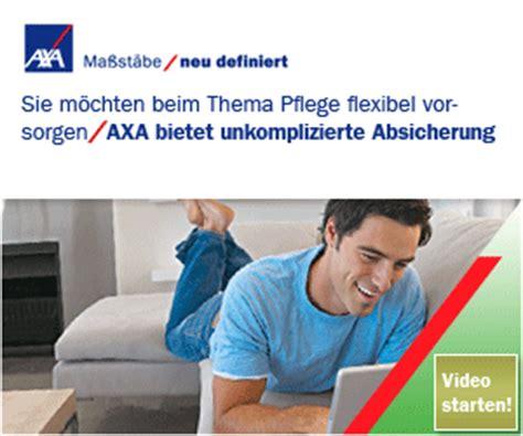Autoversicherung Rechner Axa by Harburger Preisvergleich Krankenversicherungen