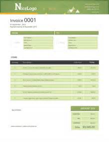 design invoice template free free business template