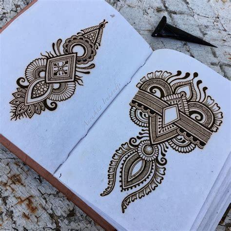 henna tattoo designs on paper henna on paper anoushka irukandji 2016 design