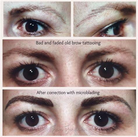 tattoo eyebrows correction gallery permanent makeup microblading surrey