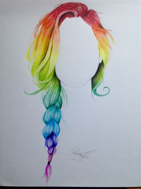 With Hair Drawing