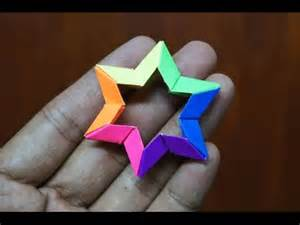 Origami 6 Pointed - modular origami how to make modular 3d 6 point