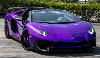 Maserati For Sale Ta Lamborghini Ad Personam Builds Purple Aventador Sv Roadster