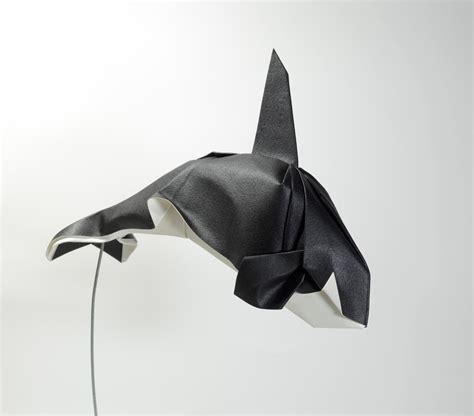 Origami Killer Whale - 25 excellent origami fish just for the halibut