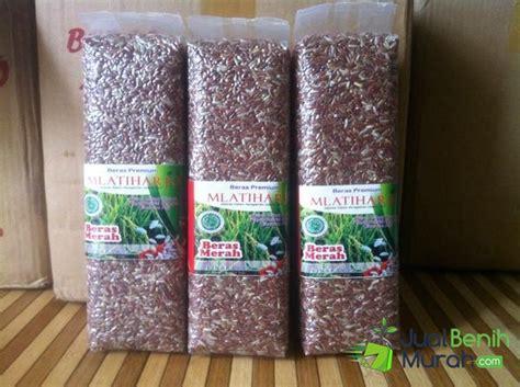 Beras Merah 1 Kg beras merah mlatiharjo 1 kg jualbenihmurah