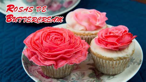 como decorar pasteles con rosas rosas de buttercream para decorar tartas y pasteles youtube